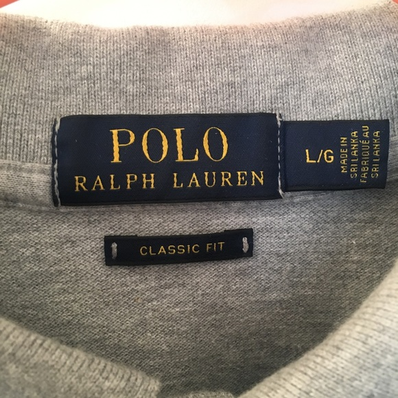 Large Classic Fit Ralph Polo Lauren F1KJT3lc
